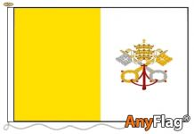 VATICAN CITY ANYFLAG RANGE - VARIOUS SIZES